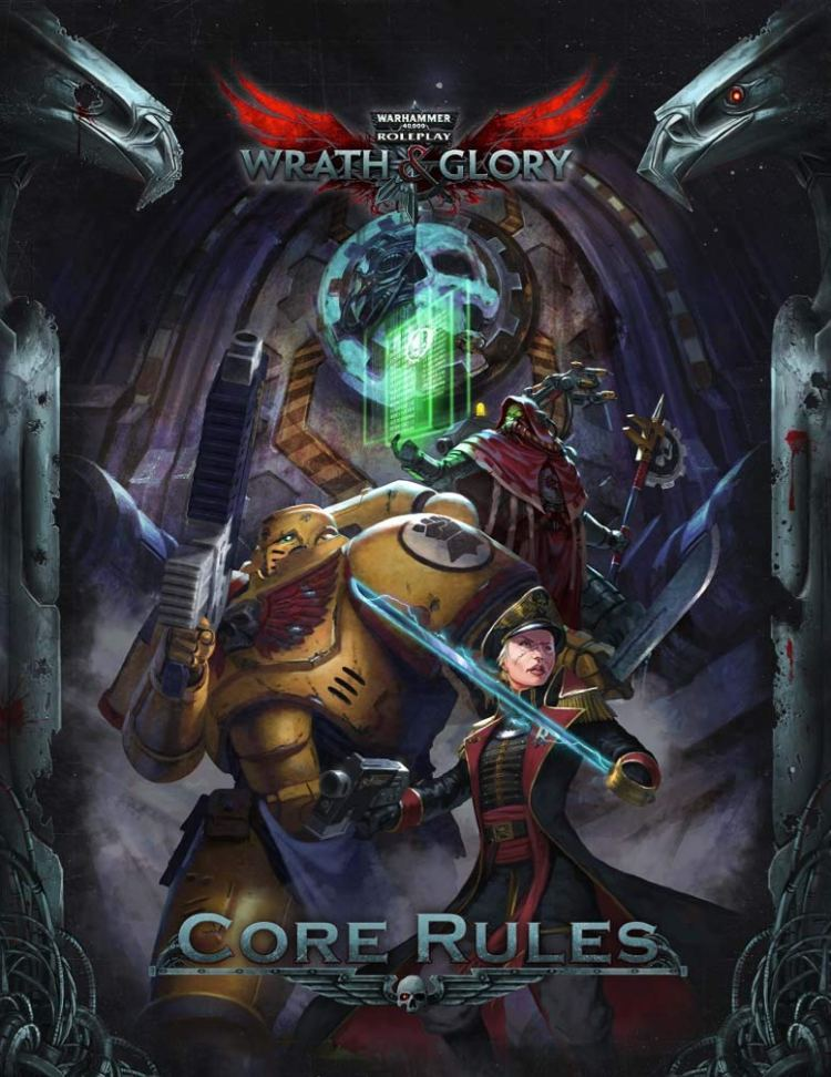 Wrath and Glory rulebook cover