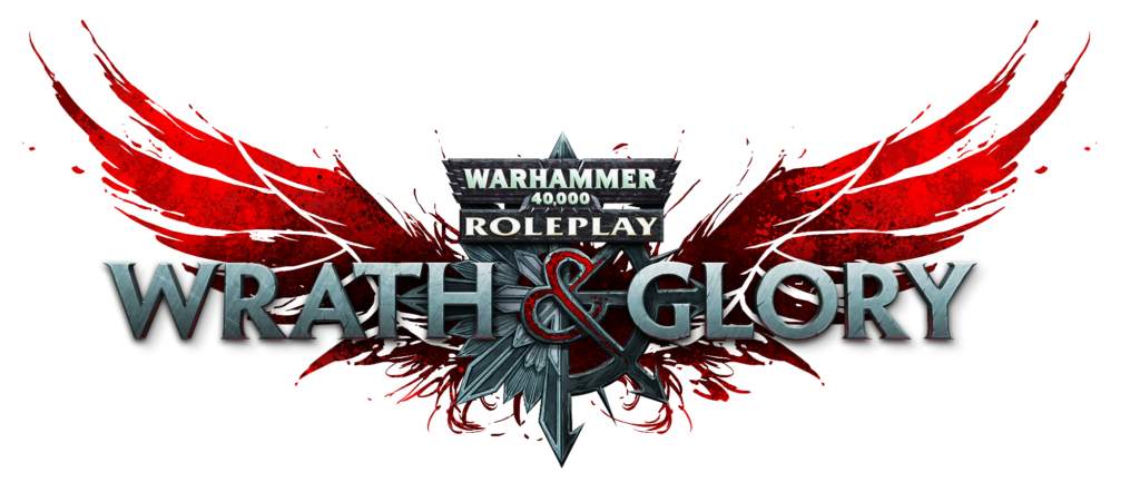 Wrath and Glory TTRPG logo