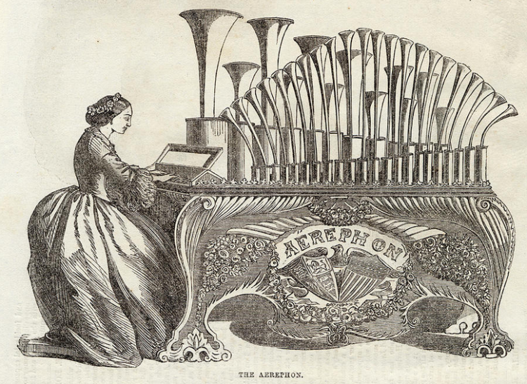 illustration of an aerephon