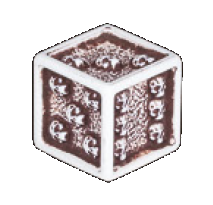 d6 from Six Doors to Darkness by Games Workshop