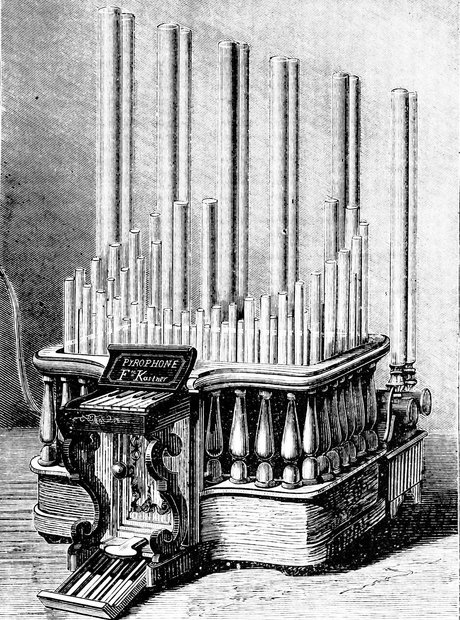 illustration of a pyrophone