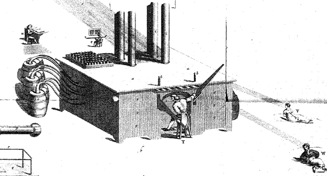 Matthew Tilly's illustration of the air loom